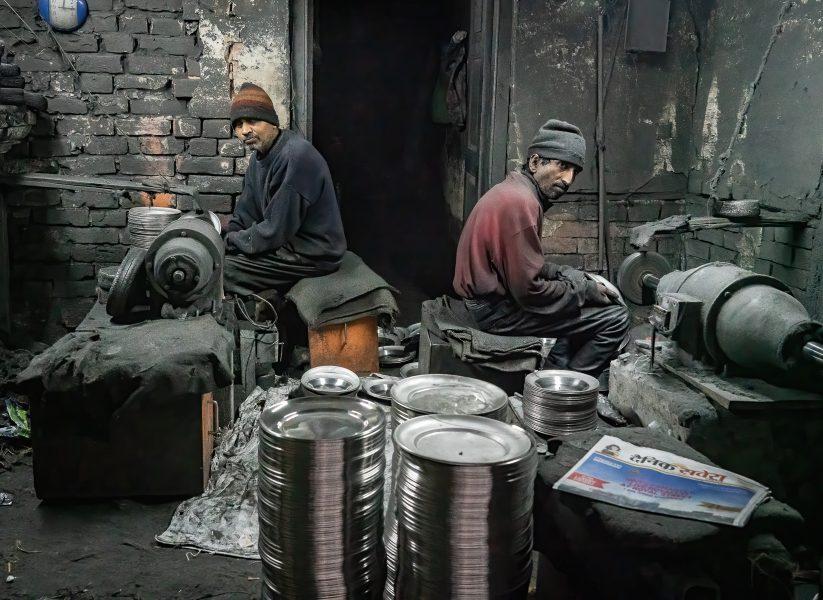 Golden Temple Plate Makers Amritsar India 2 - Don Goldman