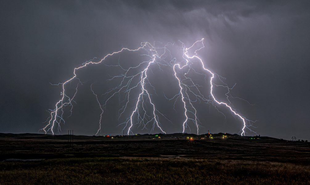 Night Lightning Gillette Wyoming - Don Goldman