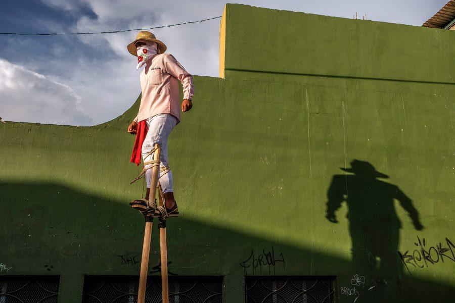 Pole Dancer Oaxaca - Kathleen Grady
