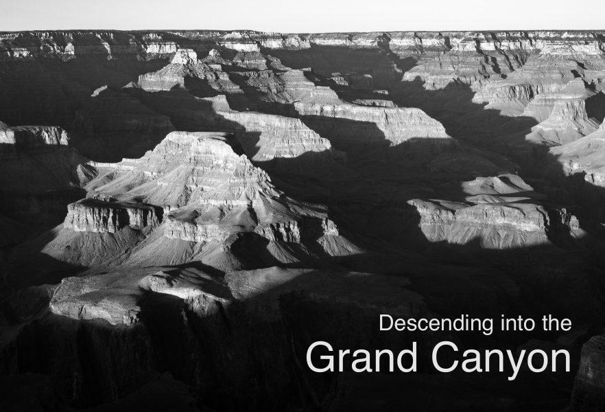 Descending into the Grand Canyon 01 - Aaron Vizzini