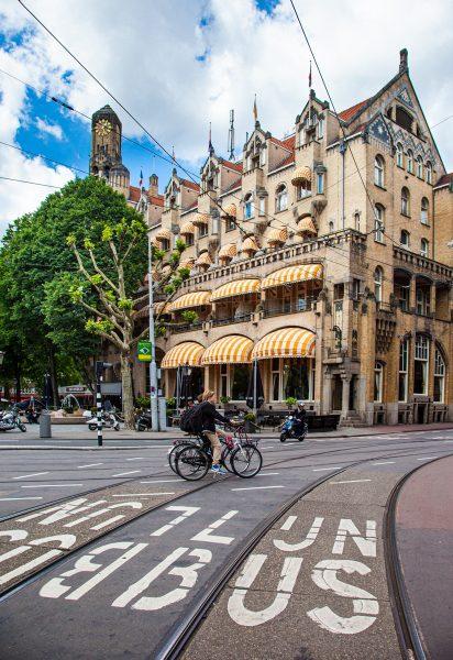Street Corner in Amsterdam - Jan Lightfoot