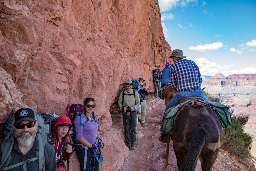 The Great Grand Canyon Mule Ride 06 - Jan Lightfoot