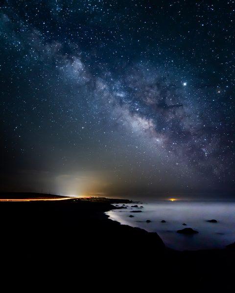 Coastal Milky Way - Takeshita Hayata