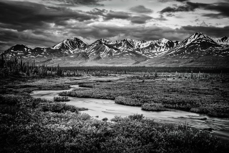 The Talkeetna Mountain Range - Jim Berger