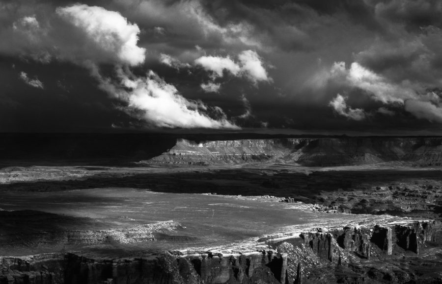 Storm Clouds Over the Canyon - Aaron Vizzini